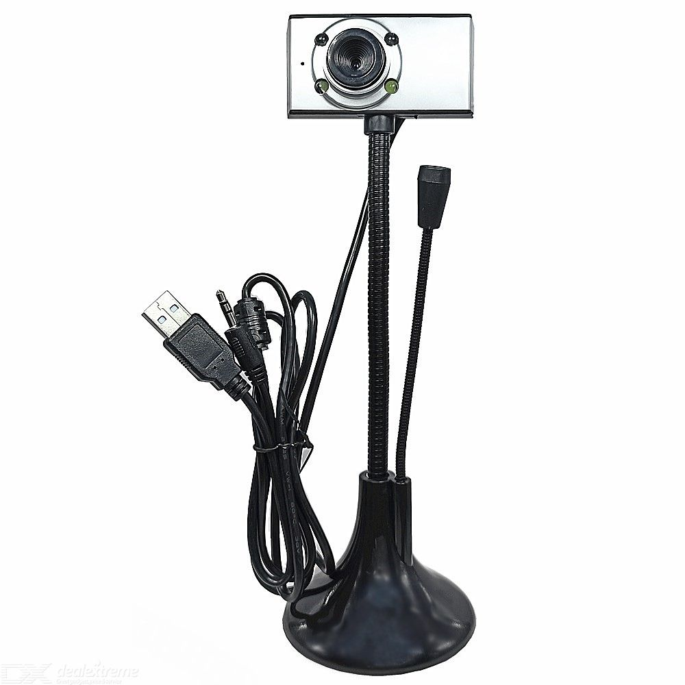 Dx coupon: 0.3MP HD USB Camera with Microphone for Students Live Class / Game Drive Free
