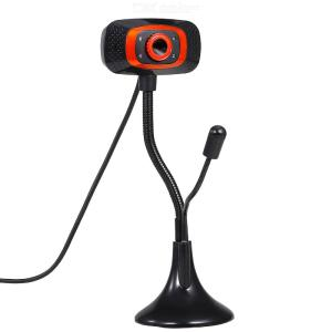 USB Webcam with Microphone and Light for PC Computer Camera Plug and Play