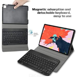 Touch Keyboard For iPad Pro 11 Inch 2020 Bluetooth Touch Keyboard + PU Leather Case Set Protective Tablet Case