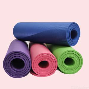 10mm NBR Yoga Mat Multi-purpose And Odor-free Indoor/outdoor Workout Fitness Mat - 183x61cm