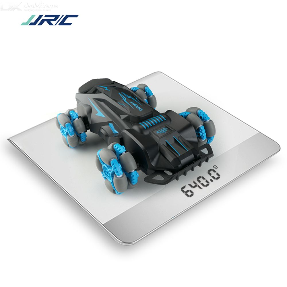JJRC Stunt Racing RC Car High Speed 360 Rotation Anti-collision Tire RC Stunt Drift Car