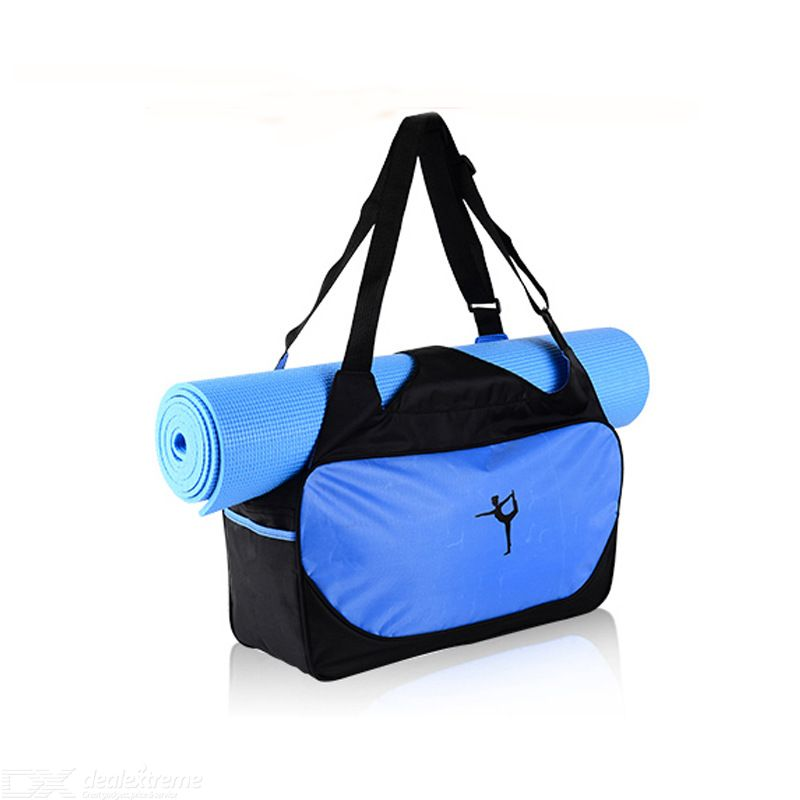 Lightweight Sport Gym Bag With Shoes Compartment For Workout Yoga Water Resistant Clothing Towel Bag