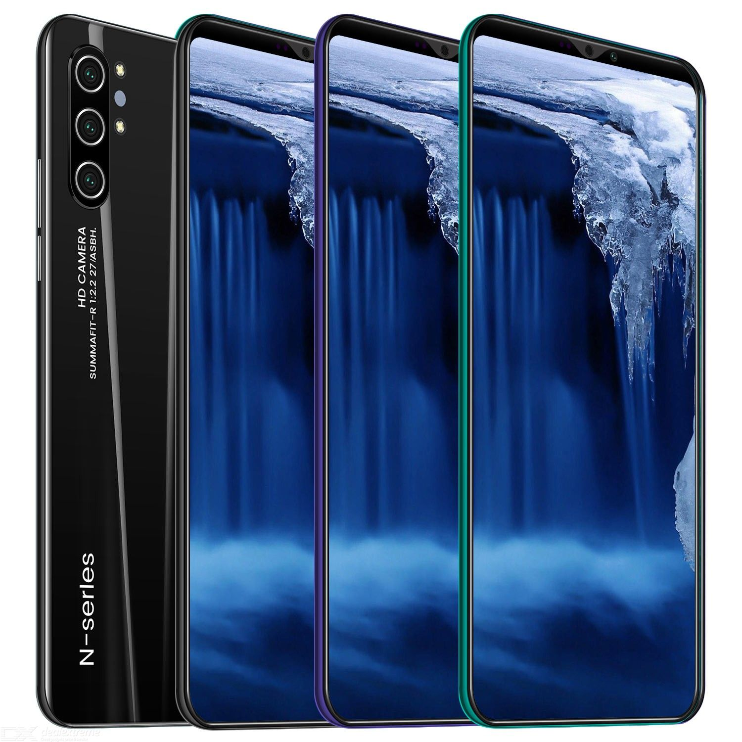 Note 10 5.0 Inch HD Octa-Core Android MTK6580 4G Smart Phone with 1GB RAM 4GB ROM - EU Plug