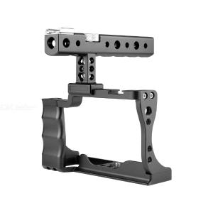 YELANGU Professional Portable Handheld Aluminum Alloy C14 Camera Cage for Canon M50