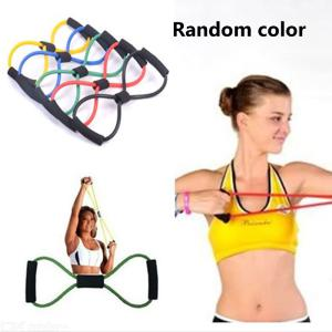Fitness Equipment Tube Workout Exercise Elastic Resistance Band For Yoga