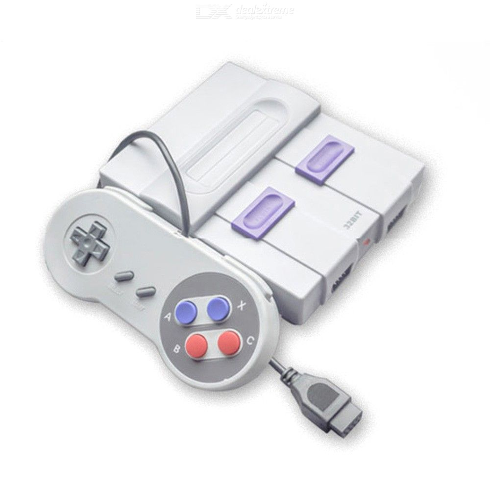 32Bit Retro Video Game Console with 112 Games for Handheld Video Game Players For MD/SNES/Genesis Games With Dual Gamepads
