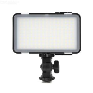 Godox LEDM150 Mini LED Video Light 5600K Dimmable Photography Fill-in Light CRI 95+ with Adjustable Phone Mounting Bracket