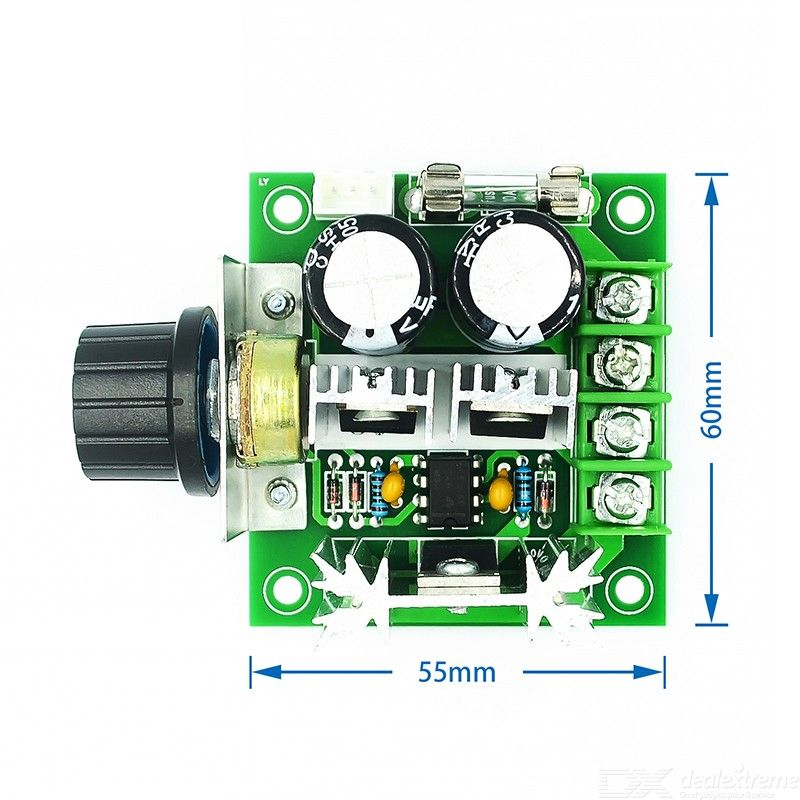 12V-40V 10A Governor PWM DC Motor Speed Control Switch Module