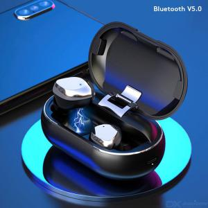 X26 Wireless Earphones TWS Bluetooth Headphone 6D Stereo Sport Earbuds with Metal Charging Box For Xiaomi