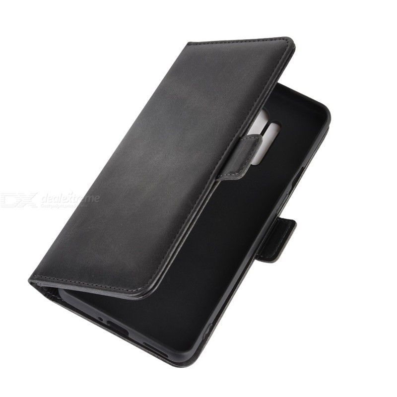 CHUMDIY Double Buckle PU Leather Phone Wallet Case with Stand for OnePlus 8 Pro