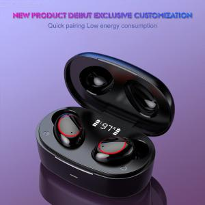 A9 TWS Earbuds Wireless Bluetooth V5.1 Earphones Touch Control Stereo Cordless Headset For iPhone Smart Phone With Charging Box