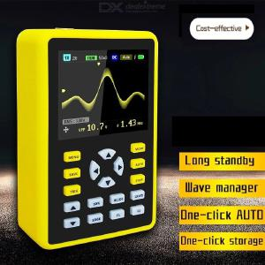 FNIRSI-5012H 2.4 Inch Digital Screen Oscilloscope with 500ms/s Sample Rate 100MHZ Support Analog Bandwidth Waveform Storage