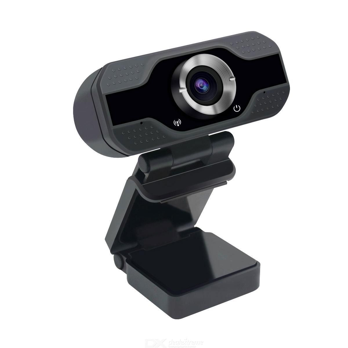 ESCAM PVR006 1080P USB2.0 HD Webcam with Microphone for PC