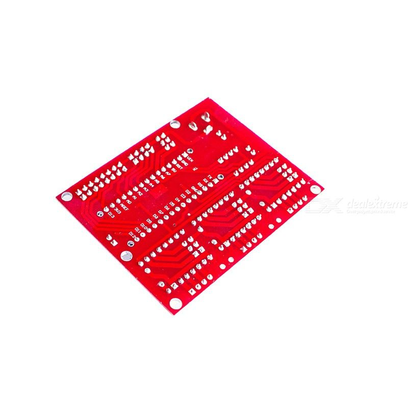 CNC Shield Expansion Board V4 Engraving Expansion Machine Board Kit for GRBL