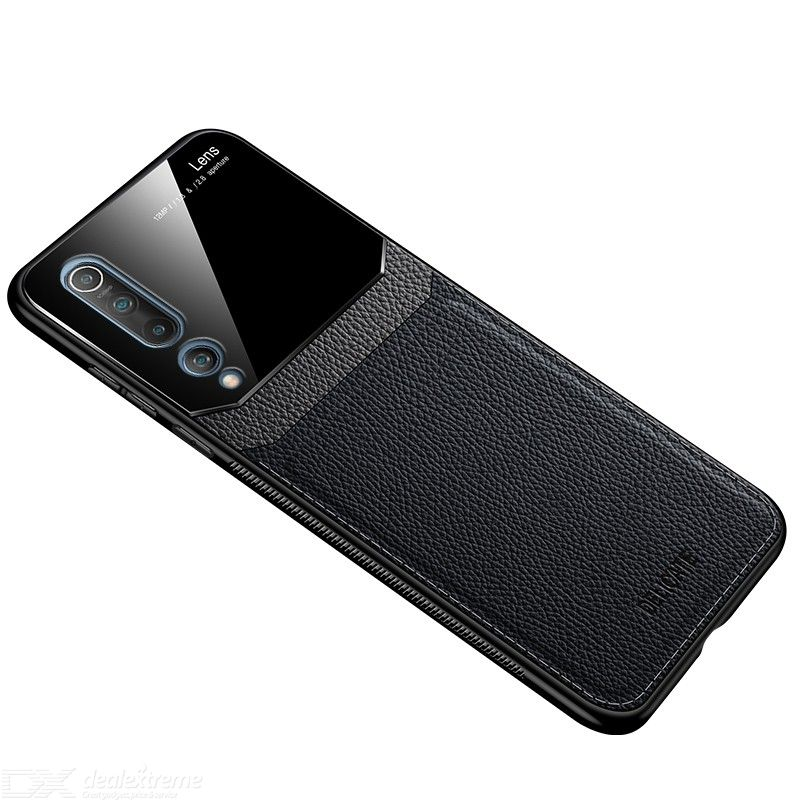 CHUMDIY PU Leather Phone Case Ultra Thin Back Cover for Xiaomi 10 Pro