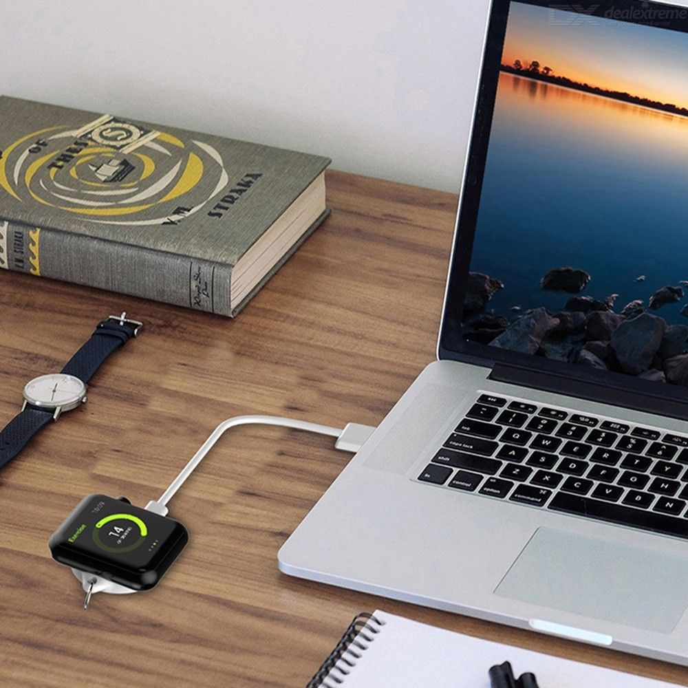 Mini Portable Magnetic Wireless Charger For Apple Watch