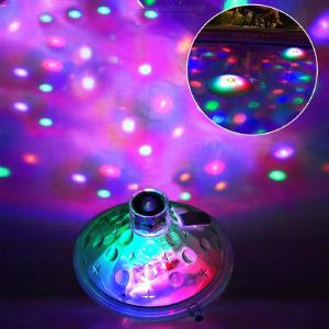 LED Floating Pool Light Creative Color Charging Pool Lamp Bulb for Fountain Fish Tank Aquarium Pond Hot Tub
