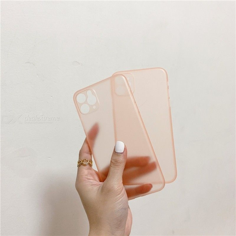 Ultra Thin Matte Transparent Phone Case Protective Back Cover For iPhone 11 Pro Max / XR / X / 6 / 6S / 7 / 8 Plus