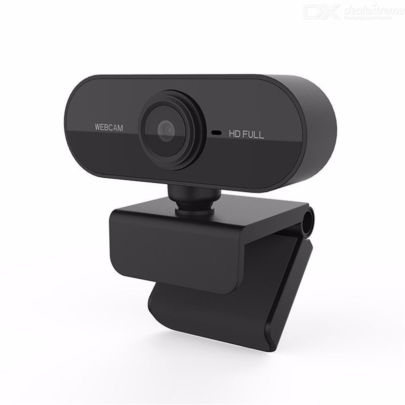 Dealextreme / Quelima 1080P Webcam USB Full HD Computer Cameras with Microphone for PC Laptop Desktop