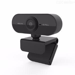Quelima 1080P Webcam USB Full HD Computer Cameras with Microphone for PC Laptop Desktop
