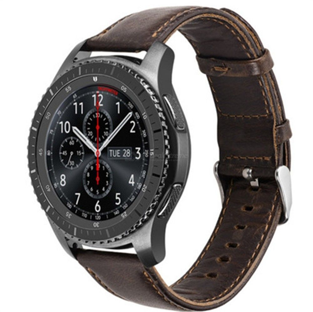 Leather Band Applicable to Samsung gear S3 band Samsung S3 horse Band Duke Series