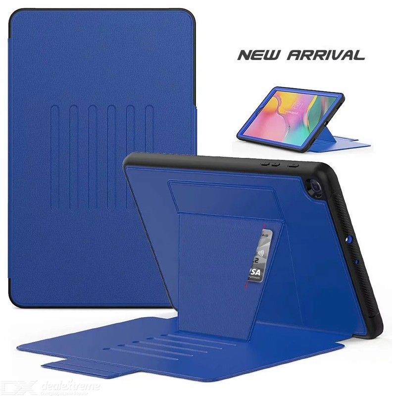 Case for Samsung galaxy Tab A 10.1  SM-T510 T515 Soft Smart Shockproof Leather Card Slot Case for Galaxy Tab A 10.1