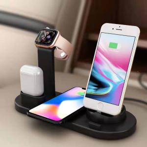 Three-in-one wireless charging stand for Apple mobile phone Watch headset