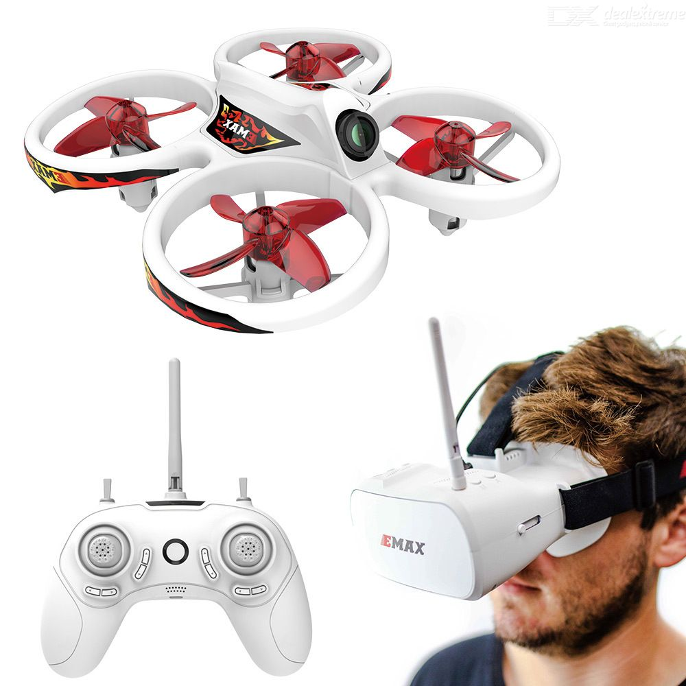 EMAX EZ Pilot Mini FPV Racing Drone RC Drone With 5.8G Video Glasses 450mAH Battery