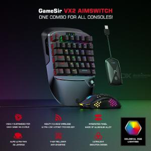 Gamesir Chicken VX2PC Wireless Bluetooth game console keyboard mouse accessories