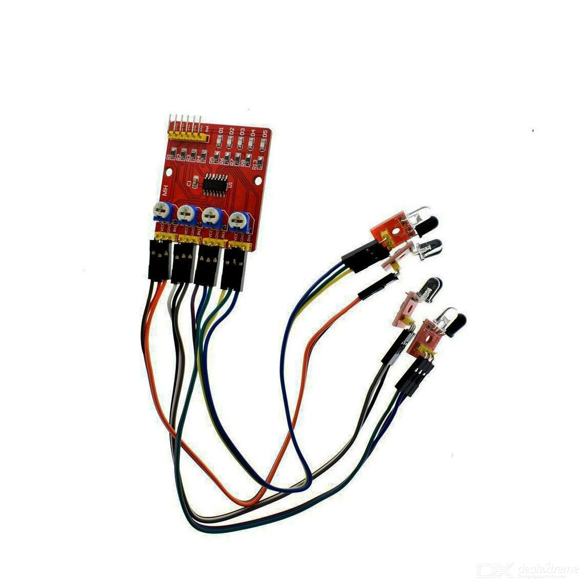 Four Channel Infrared Tracing / Tracking Module