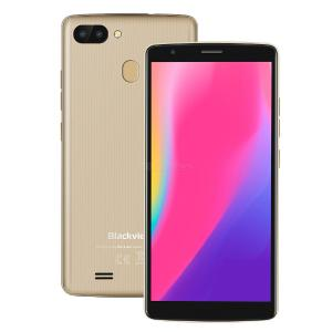 Blackview A20 pro 5.5inch  gold 2+16G 6739 1.28GHZ quad-core standard + coated smartphone