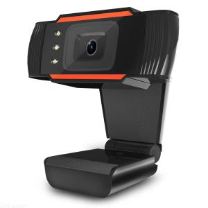 A870-C3 USB HD Web Cam 12MP 480P Clip-on Web Cam with Microphone 3LED Night Vision for Conference Class