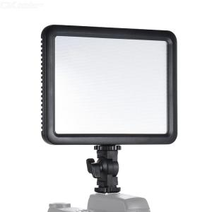 Godox LEDP120C Ultra-thin 12W Dimmable LED Video Light Panel Fill-in On-camera Lamp 3200K-5600K Bi-color Temperature w/ Hot Shoe