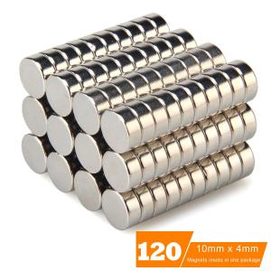 120pcs/set 10x4mm NdFeB Multifunctional Round Magnet Educational Toy