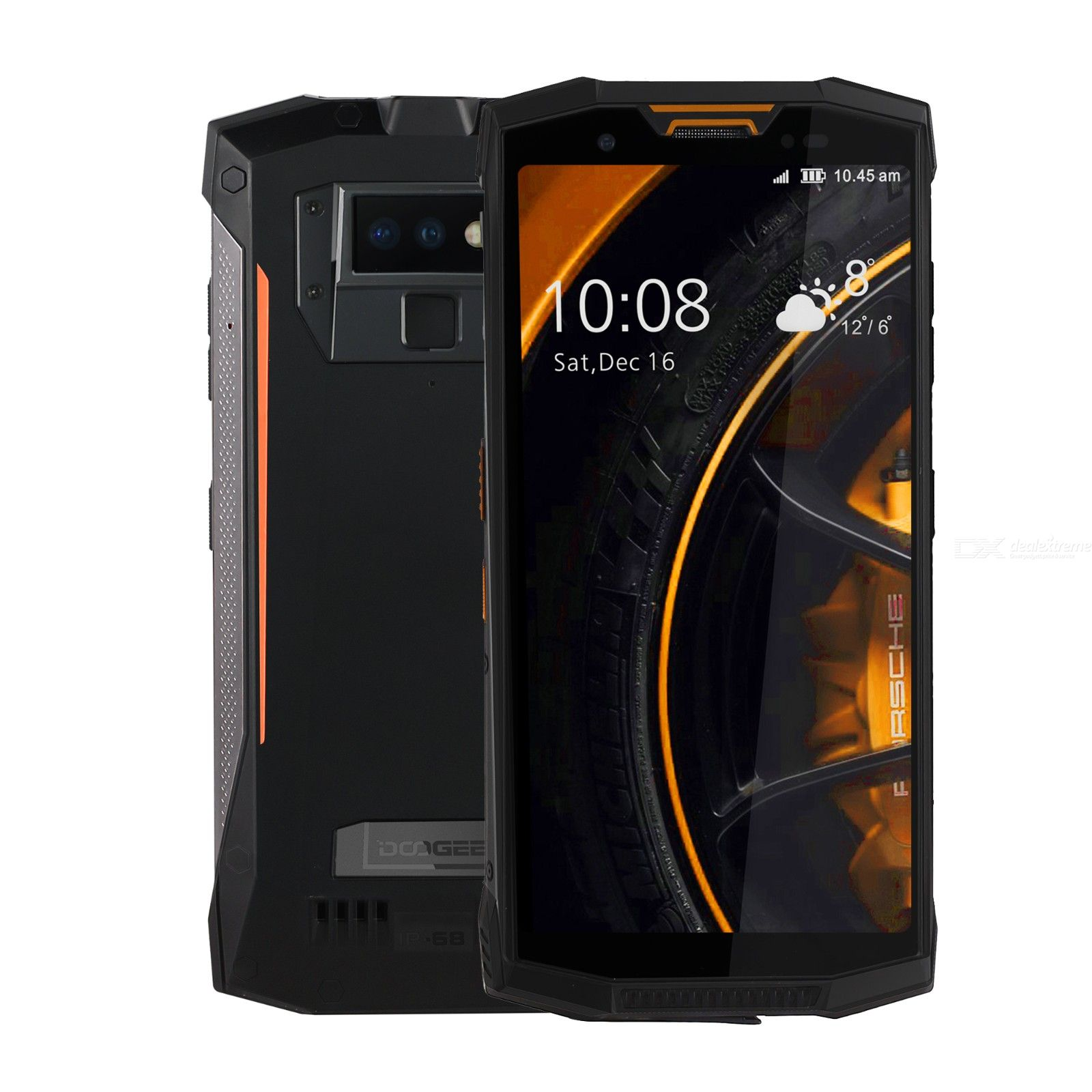 Doogee s80 5.99inch orange 6 + 64G 6763 2.5 GHZ 8 core standard smartphone