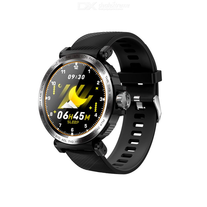 S18 1.28 Inch Smart Watch Touch Screen Wateproof Smartwatch With Heart Rate Blood Pressure Monitor Sports Mode