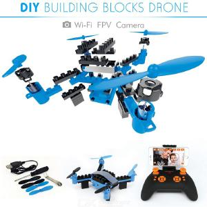 902HS DIY RC Drone DIY Bouwsteen RC Quadcopter Met Camera's