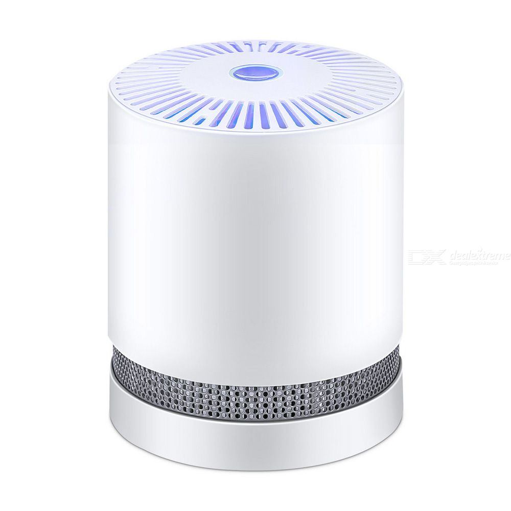 Air Purifier With True HEPA Filter Activated Carbon Air Cleaner For Home Allergies Pets Smoke Dust Mold Pollen