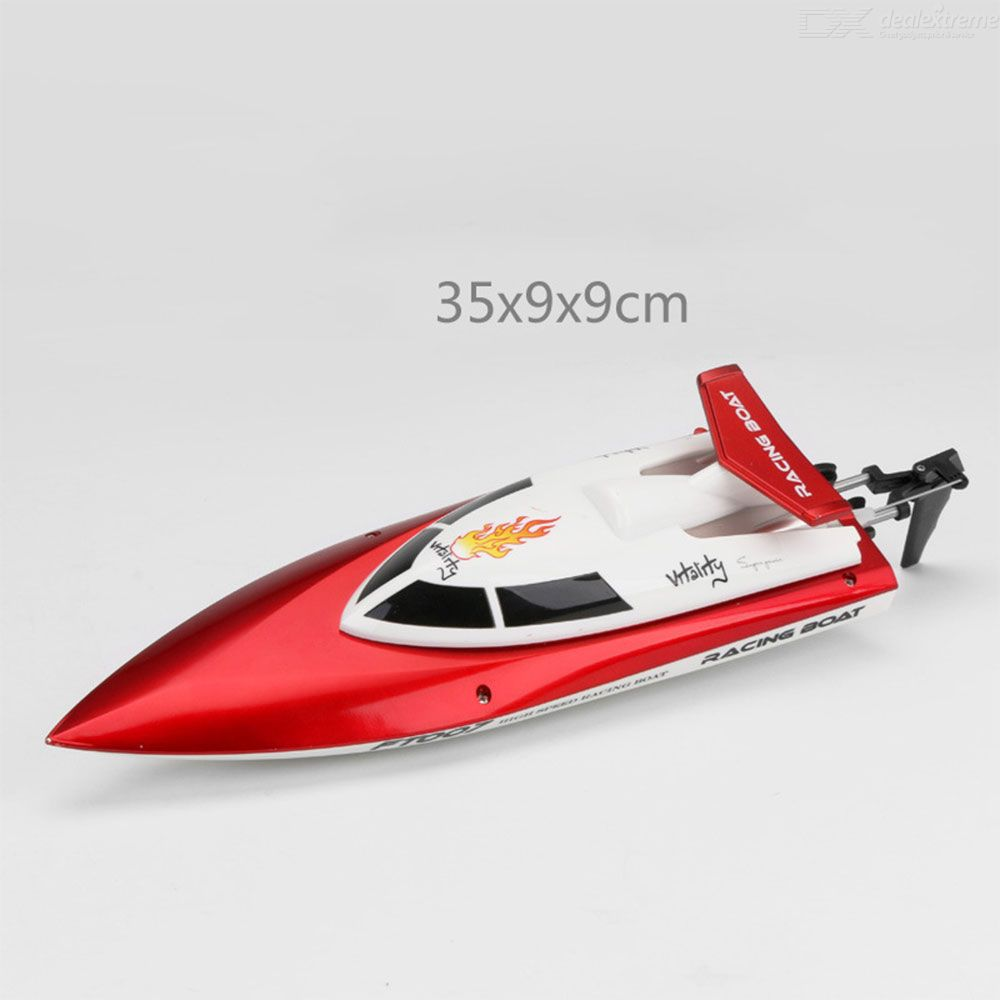 FT007 RC Boat 2.4G Remote Control Racing Boat High Speed Self Righting RC Toys For Kids