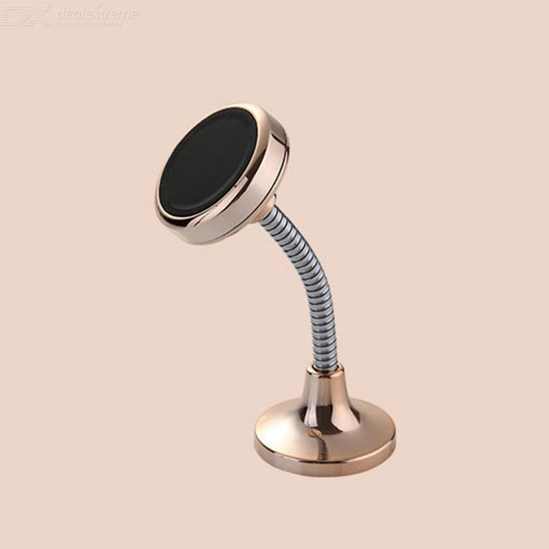 Magnetic Car Phone Mount Compact Cellphone Holder With Flexible Gooseneck