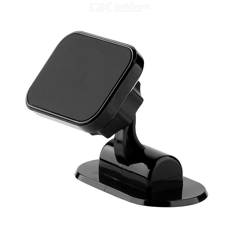 Magnetic Car Phone Holder Sturdy Rotatable Phone Clamp For Smartphone GPS