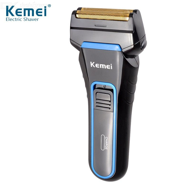 Kemei KM-2016 Men's Electric Shavers With Pop-up Sideburns Trimmer Rechargeable Electric Razor