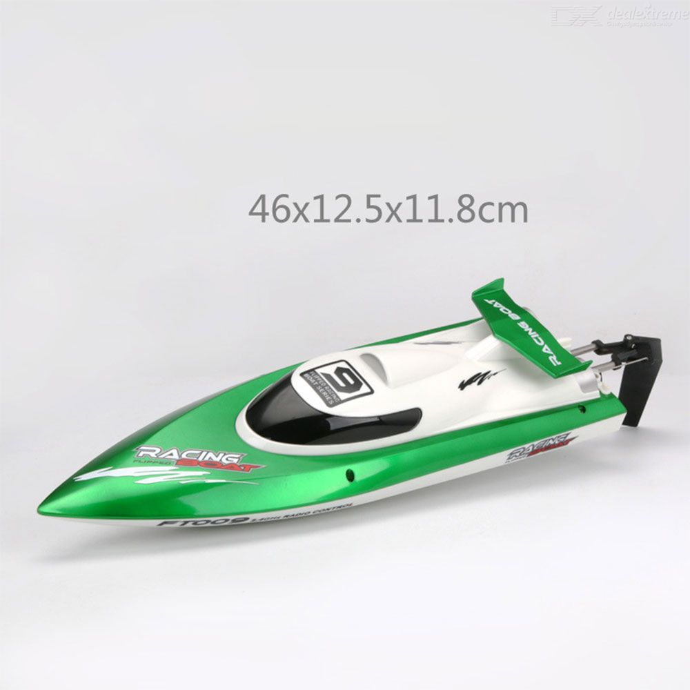 FT009 RC Boat Remote Control Racing Boat Toys With Self Righting Function Presant For Boys Children Kids
