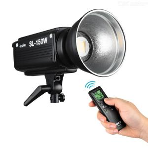 GODOX SL150W 5600K 150W High Power LED-videolamp LED-camera Licht Met Instelbare Helderheid Afstandsbediening Bowens Mount