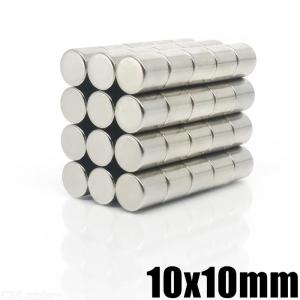 10PCS Strong Magnets Set 10x10mm N35 Ndfeb Fridge Magnets Disc Rare Earth Magnets for Fridge DIY Crafts Science Office