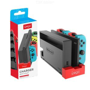 Charger Dock for Joycon 4-in-1 Charging Stand for Nintendo Switch Joy-Con