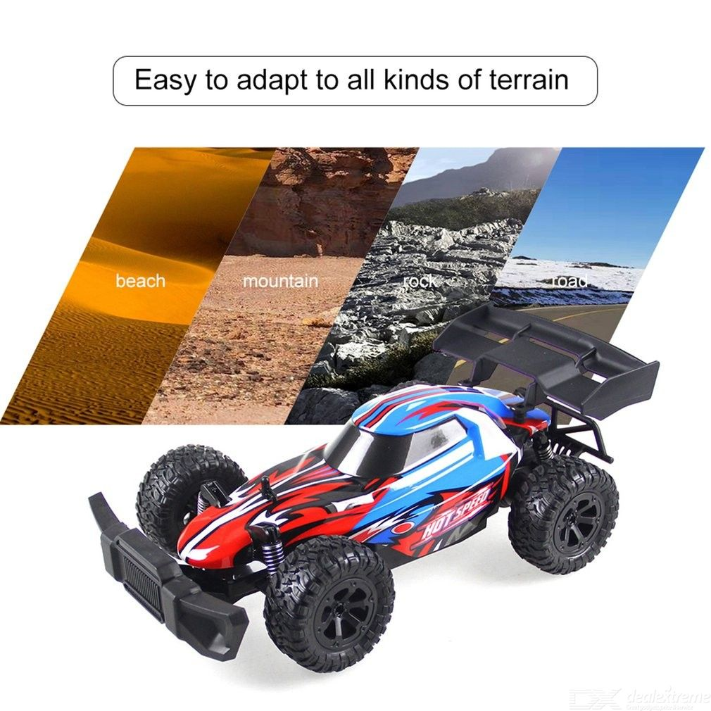 K14-2 1:14 RC Big Foot Car High Speed Racing Cars 2.4G Remote Control Off-road Crawler Vehicle Model RTR Toy