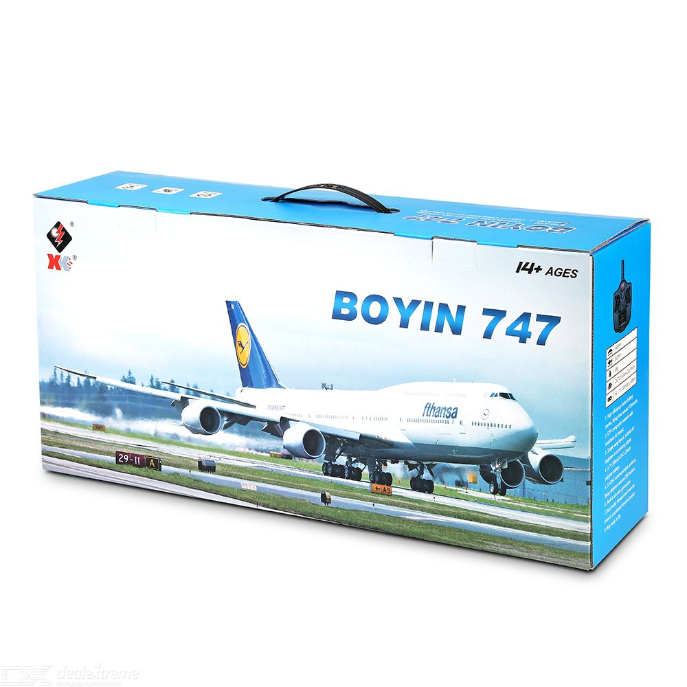 A150-C Boeing B747 Model RC Airplane 2 Channel Remote Control Aircraft Toys For Children Kids Boys