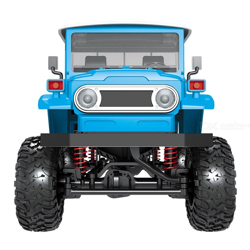FSK RC Model MN45 RTR 1/12 2.4G 4WD RC Car with LED Light Crawler Climbing Off-road Truck