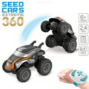 RC Stunt Car 2.4G RC Toy 360 Degree Rotation RC Off-road Racing Car Remote Control Off Road Trucks